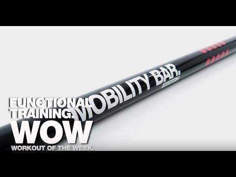SKLZ Mobility Resistance Training Bar Black