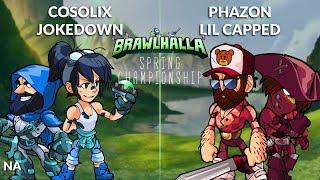 Cosolix & Jokedown vs Phazon & Lil Capped - NA 2v2 Top 8 - Spring Championship