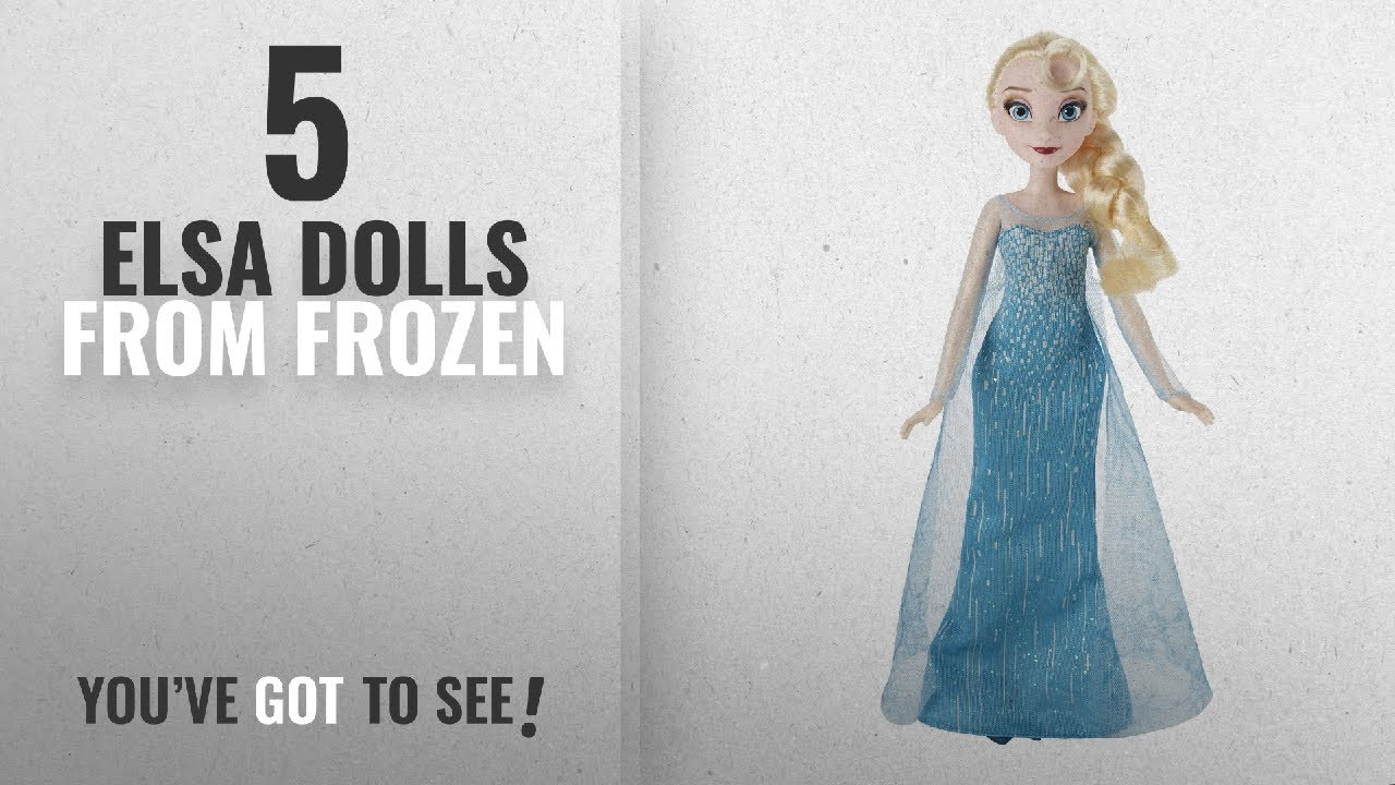 12/'/' Disney Store Authentic Frozen Elsa Classic Doll with Olaf Figure