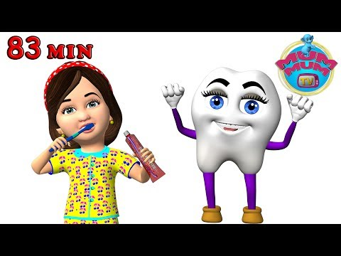 Brush Your Teeth, After A Bath, Wheels on the Bus & More Nursery Rhymes Collection Song