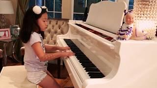 Sonatina Allegro Burlesco Op. 88, No. 3, Movement 3 (Friedrich Kuhlau) - Bella Dang  - 8 years old