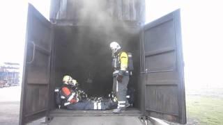 flashover container risc maasvlakte