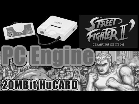 スタッフロール(STAFF CREDIT) - STREET FIGHTER II DASH for PC-Engine