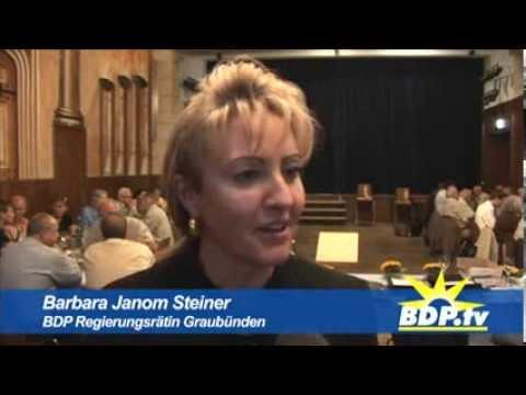 Gründung der BDP Sektion Chur -  2008