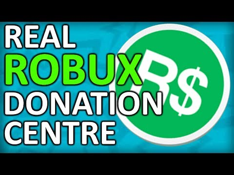 REAL ROBUX Donation Centre [ROBLOX SOCIAL EXPERIMENT]