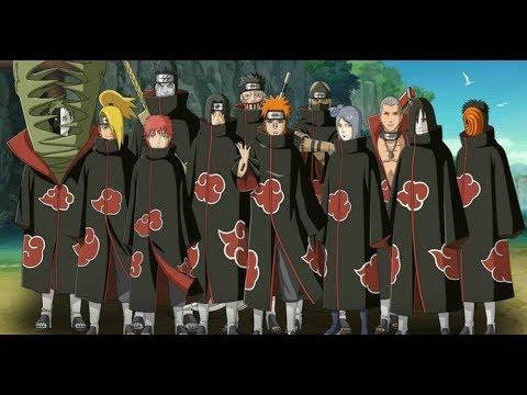 Naruto Shippuden All Akatsuki Death Scenes In English ...
