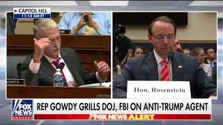 Gowdy Goes Off on Rosenstein Over Mueller Probe: 'Finish It the Hell Up'