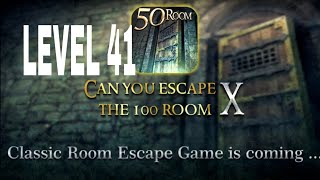 Can You Escape The 100 room X level 41 Walkthrough