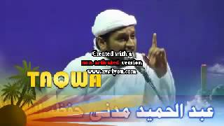 Taqwa (Maulana Abdul Hamid Madni)