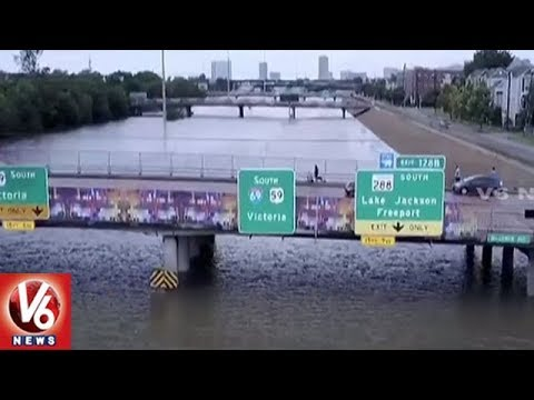 Hurricane Harvey Storm Hits Texas City | 5 Dead, 14 Injured | V6 USA NRI News
