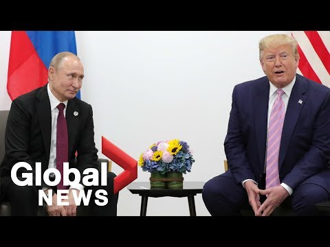Trump tells Putin at G20 summit: Don't meddle in U.S. elections