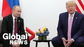 Trump tells Putin at G20 summit: Don't meddle in U.S. elections