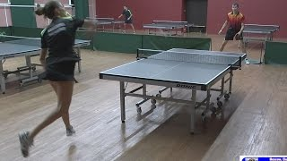 Алексей УЛАНОВ - Ольга БАРАНОВА (3 МЕСТО), Настольный теннис, Table Tennis