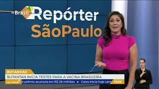 SP   Butantan inicia testes para vacina brasileira