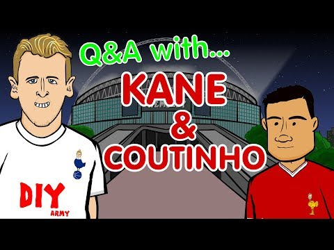 ❓Q&A: Kane and Coutinho❓(Parody - Tottenham vs Liverpool 2017 preview)