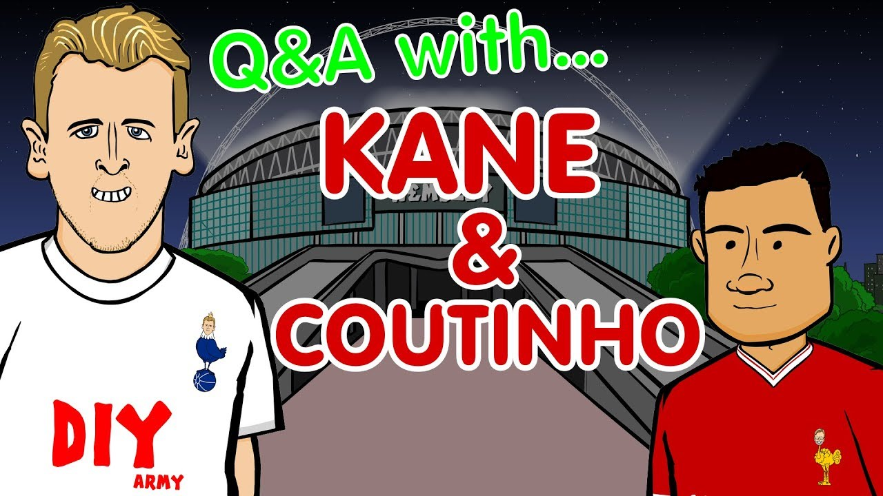 QampA Kane And Coutinho Parody Tottenham Vs Liverpool