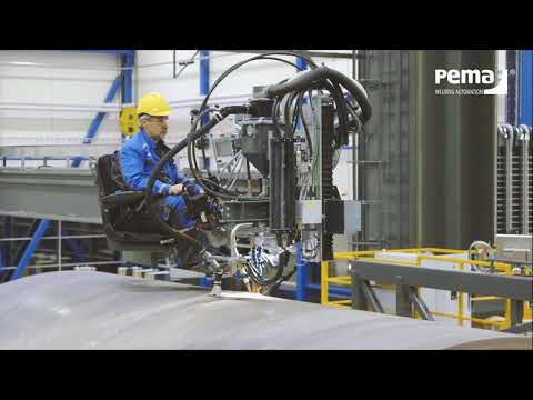 WIND ENERGY | PEMA welding and production automation systems for wind energy