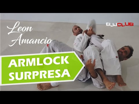 🆕 Armlock Surpresa da Guarda Aranha  🏼👉 Guarda Aranha Passagem - Jiu Jitsu - BJJCLUB
