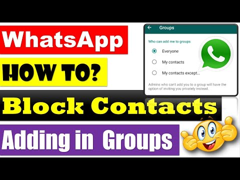 Here's How You Can Block Contacts from Adding You to WhatsApp Groups [Urdu/Hindi/English Captions]