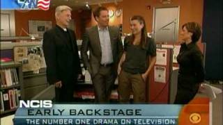 NCIS Cast on The Early Show - 22/09/09 - part 2