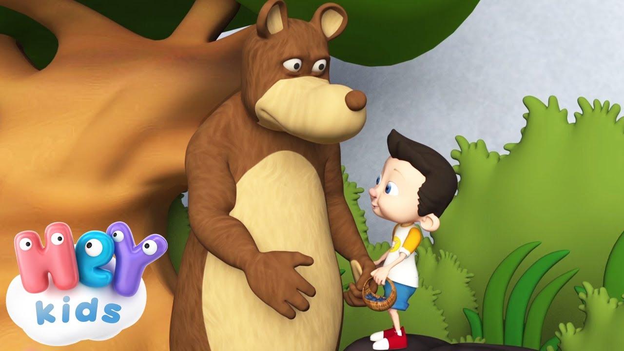 Malutki Ollie 🐻 Niedźwiedź piosenka dla dzieci - HeyKids