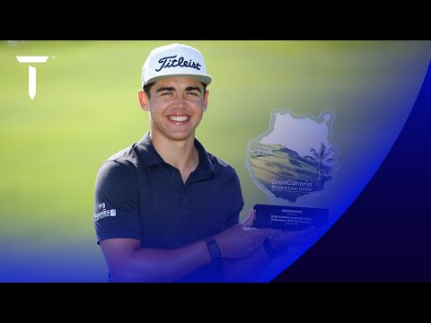 Garrick Higgo's winning highlights | 2021 Gran Canaria Open