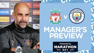 Pep Press Conference | Liverpool v City | Pep on Klopp, Anfield, KDB, Aguero and Ake