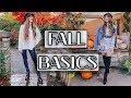 BEST FALL BASICS For Your Wardrobe *Fall Fashion Edit DAY 5*