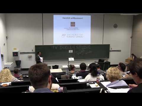 TV-Duell Experiment Uni Mainz