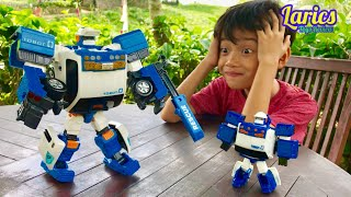 Tobot ZERO Besar Aneh Bisa Nyala Tanpa Batre VS Mini Tobot Zero 🤣😂😅