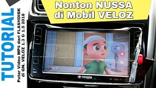 Cara Putar MP4 di Veloz 1.3 dan 1.5 2018 dari Flashdisk Toyota Indonesia