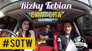 Luna Maya - Rizky Febian, Selebriti On The Way Part #6