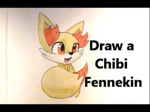 How to draw chibi pokemon