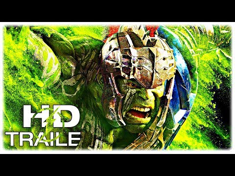 Thor Ragnarok Hulk SMASH Trailer NEW (2017) Chris Hemsworth Superhero Movie HD