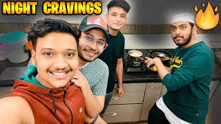 COOKING BEST LATE NIGHT FOOD WITH S8UL BOYS 🔥