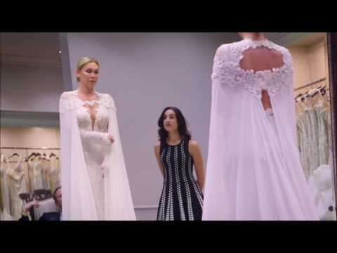 Kym Johnson Goes Wedding Dress Shopping with Carson Kressley