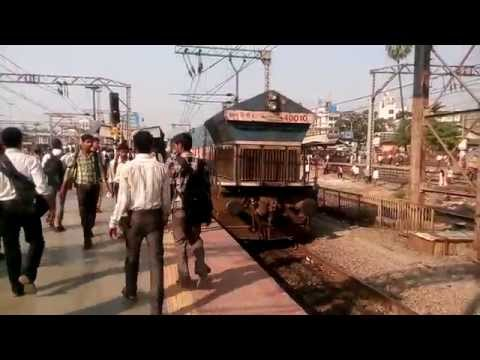 11041 - MUMBAI CST CHENNAI EXPRESS DEPARTS THANE from YouTube · Duration:  2 minutes 21 seconds