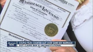 Couple files counter suit over same-sex marriage