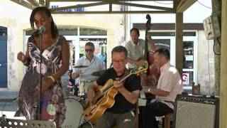 Halimata & Daniel Huck Quartet - Mack the Knife - Jazz'n Cars St Sever 14 juillet 2016