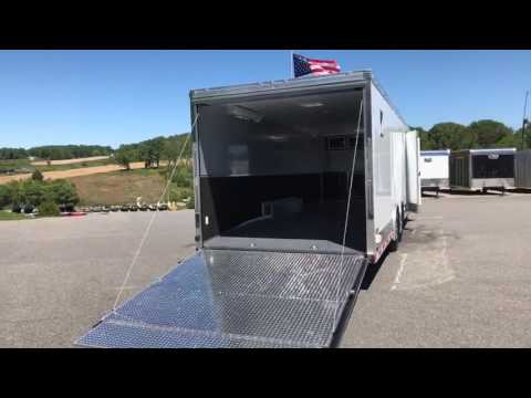 28' Enclosed Race Trailer - Loaded with Options