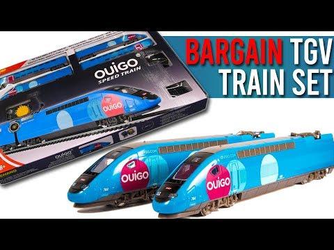 Ultra Cheap Ouigo TGV High Speed Train Set | Unboxing & Review
