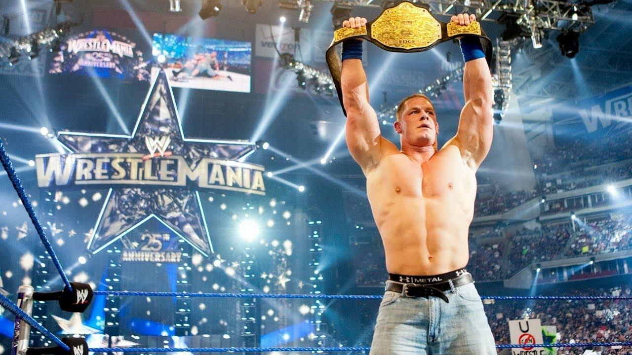 Image result for john cena wrestlemania
