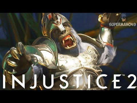 GORILLA GRODD SLAPS THE TASTE OUT OF A TRUE SPAMMER - Injustice 2 All Character Cycle #14