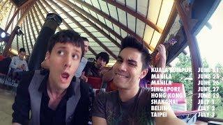 Airport Song #2! w Sam Tsui - Jakarta