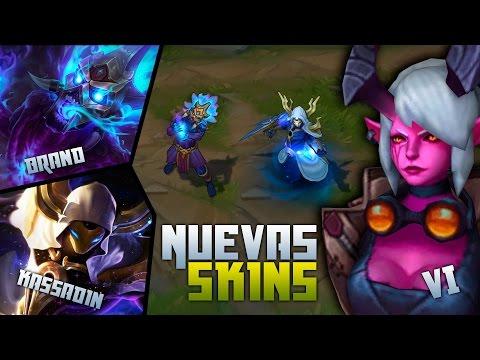 Vi - Kassadin - Brand | Nuevas Skins | League of Legends