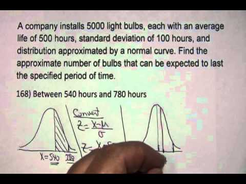 Distribution Math Problems Math 110 Normal Distribution