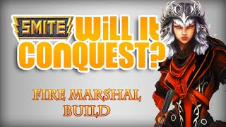 "Smite - Will it Conquest? 2 - Fire Marshal Build ""Artemis"""