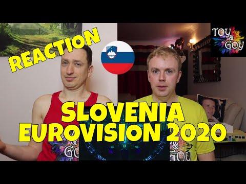 SLOVENIA EUROVISION 2020 REACTION: Ana Soklič - Voda