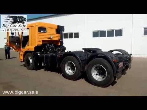 Седельный тягач КАМАЗ 65116-7010-48(А5) с новой кабиной