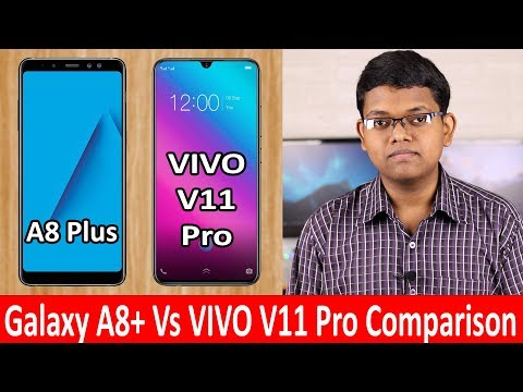 Samsung Galaxy A8+ Vs Vivo V11 Pro Which Is the best Smartphone?